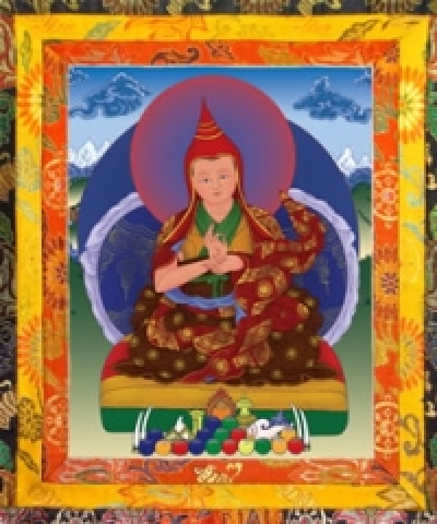 The Tenth Throne Holder  The Fourth Karma Kuchen Rinpoche  Thegchog Nyingpo