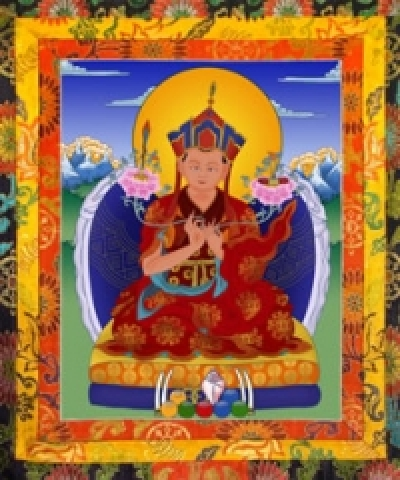 The Seventh Throne Holder  Pedma Do-Ngag Tenzin Ngesang Chokyi Nangwa