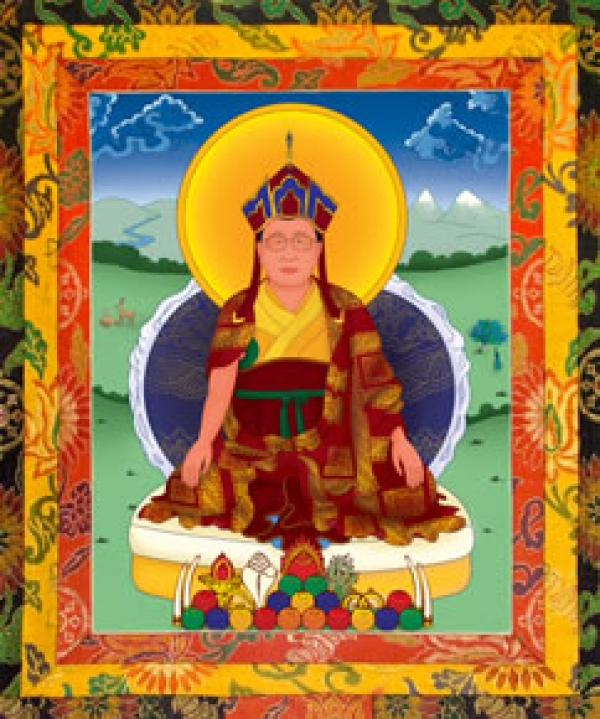The Eleventh Throne Holder - The Third Drubwang Pedma Norbu Rinpoche - Thubten Leshed Chokyi Drayang