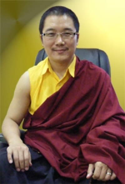 The Twelveth Throne Holder  The Fifth Karma Kuchen Rinpoche